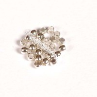 Spaustukai sidabro sp., 2 mm - 100 vnt.