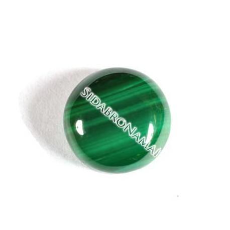 Malachitas, apvalus 10 mm.