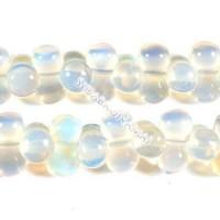 Opalas, 8-forma, 6x12 mm