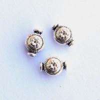 Intarpas su gėlyte sidabro sp., 1 vnt.