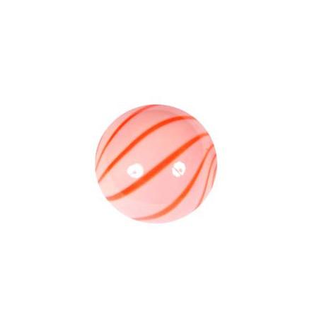 Pūsti karoliukai apvalūs raudonos sp.13 mm