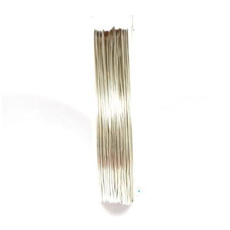Varinė vielutė sidabro sp. 0,6 mm - 7,6 metrai