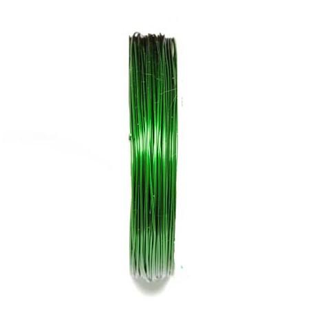 Varinė vielutė žalios sp. 0,6 mm - 7,6 metrai