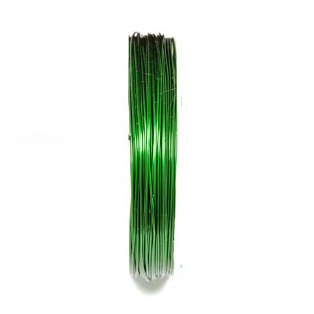 Varinė vielutė žalios sp. 0,8 mm - 5,3 metrai
