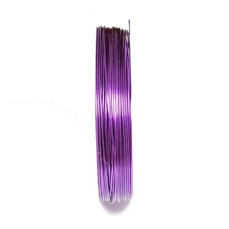 Varinė vielutė violetinės sp. 0,3 mm - 28 metrai