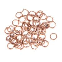 Žiedeliai metaliniai, raud. bronzos  sp. 5 x 0,5 mm - 100 vnt