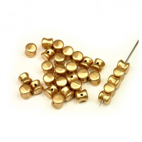 Pelet karoliukai (  sp.) 4/6 mm. - 10 vnt.