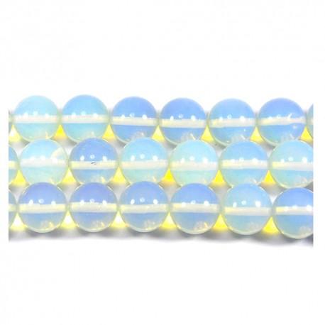 Opalas, apvalus 10 mm. 1 vnt.