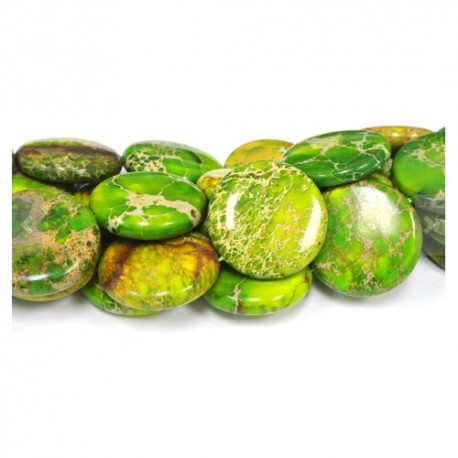 Variscitas žalias, moneta 45 mm. 1 vnt.