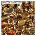 Pip karoliukai (auksinės California Sun sp) 5/7mm - 10 vnt