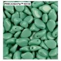 Pip karoliukai (žalios mėtinės sp) 5/7mm - 10 vnt