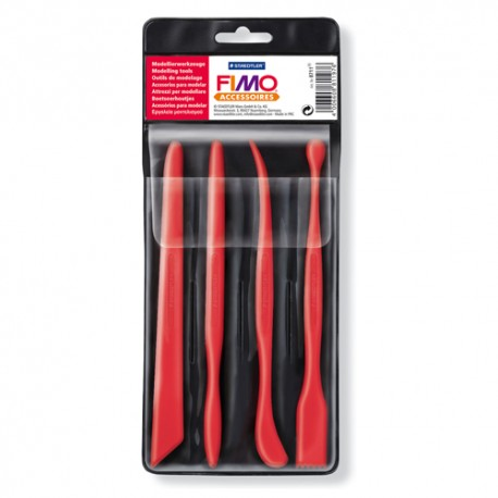 FIMO modeliavimo įrankiai komplektas, 4 vnt.