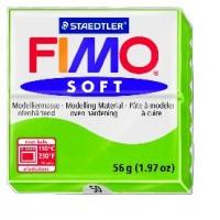 FIMO soft modelinas ryškiai žalios sp., 56g