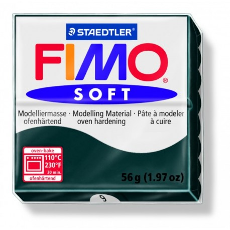 FIMO soft modelinas juodos sp., 56g