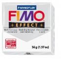 FIMO effect modelinas skaidrios baltos sp., 56g