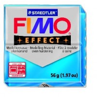 FIMO effect modelinas skaidrios mėlynos sp., 56g