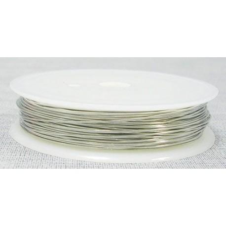 Varinė vielutė sidabro sp. 0,4 mm - 15 metrų