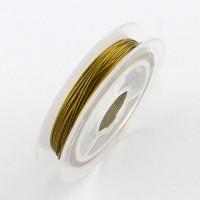 Troselis, aukso sp., 0,38mm., 10 metrų