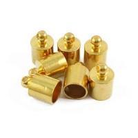 Antgalis aukso sp., 10x6x5.5mm, 1 vnt.