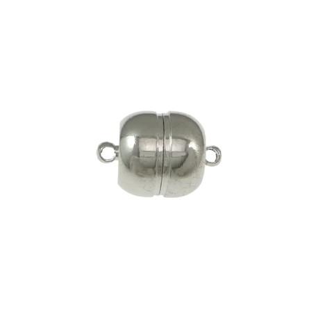 Užsegimas magnetinis nikelio sp., 11x7mm, 1 vnt.