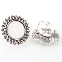 Žiedo pagrindas antik. sidabro sp., 32 mm, 1 vnt.