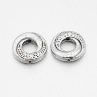 Intarpai žiedai sidabrp sp., 15mm, 5 vnt.
