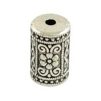 Karoliukas ornamentuotas antik. sidabro sp., 17x10mm, 1 vnt.
