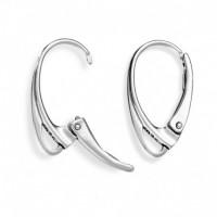 Angliški sidabriniai 925 užsegimai auskarams 1 pora
