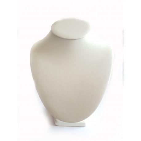 Stovas vėriniams baltas odinis, 24*18cm, 1 vnt.