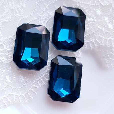 Įstatomi kristalai stačiakampiai 18x13x5mm, 1 vnt.
