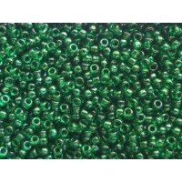 Biseris TOHO, Transparent Green Emerald, TR-15-939, 10 gr.