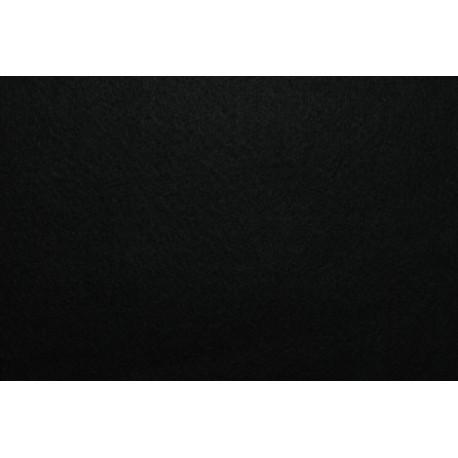 Filcas poliesterio 150x150mm, juodas 1mm, 1 vnt.