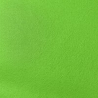 Filcas poliesterio 150x150mm, žalias 1mm, 1 vnt.