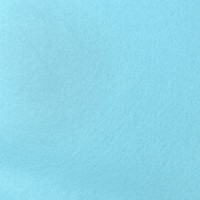 Filcas poliesterio 150x150mm, žydras 1mm, 1 vnt.