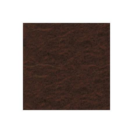 Filcas poliesterio 150x150mm, tamsiai rudas 1mm, 1 vnt.