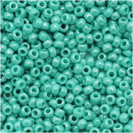 Biseris TOHO, Opaque-Lustered Turquoise, TR-11-132, 10 gr.