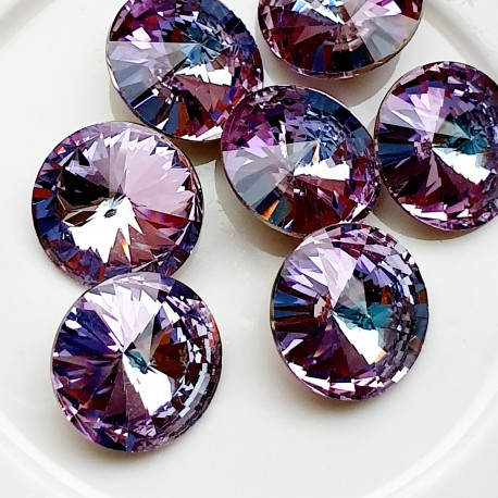 Rivoli kristalas light amethyst sp., 14 mm, 1 vnt.
