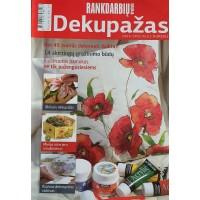"""Žurnalas """"Rankdarbių kraitelė"""". Dekupažas. 2009 Spec. nr."""