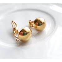Klipsams aukso spalvos, MET 1354 - 2 VNT.