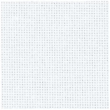 Drobė siuvinėjimui balta, 40x51 cm