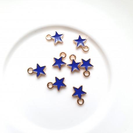 Pakabukas žvaigždutė mėlynos sp., 9mm, 1 vnt.