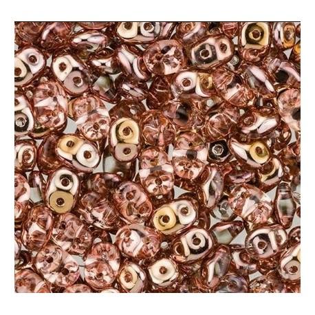 Superduo karoliukai (Apollo Gold sp.) 5x2 mm, 10 gr.