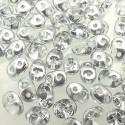 Superduo karoliukai (Silver 1/2 sp.) 5x2 mm, 10 gr.