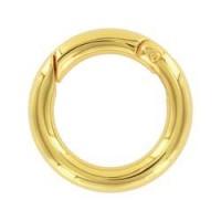 Užsegimas žiedas aukso sp., 24mm, 1 vnt.