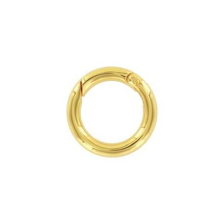 Užsegimas žiedas aukso sp., 27mm, 1 vnt.