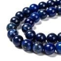 Lapis lazuli, apvalus 8 mm