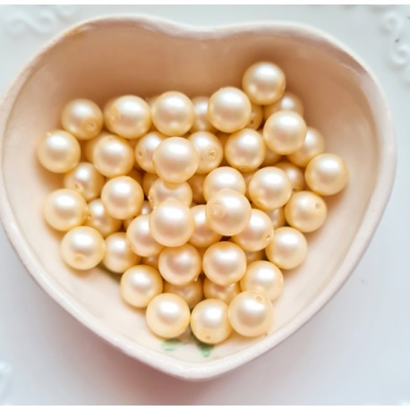 Perlai pailgos suktos formos, baltos sp., čekiškas krištolas, 17x9 mm, 13 vnt.