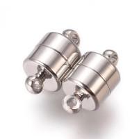 Magnetinis užsegimas sidabro sp. 11x6 mm, 1 vnt.