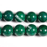 Fosilas (žalias), apvalus 10 mm
