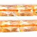 Citrinas, stačiakampiai briaunuoti 8x12 mm.
